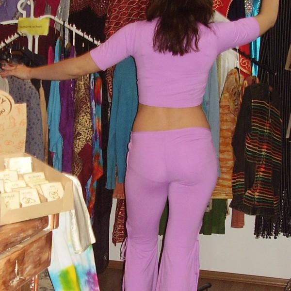Kalhotový kostým pro tanec, vel. UNI