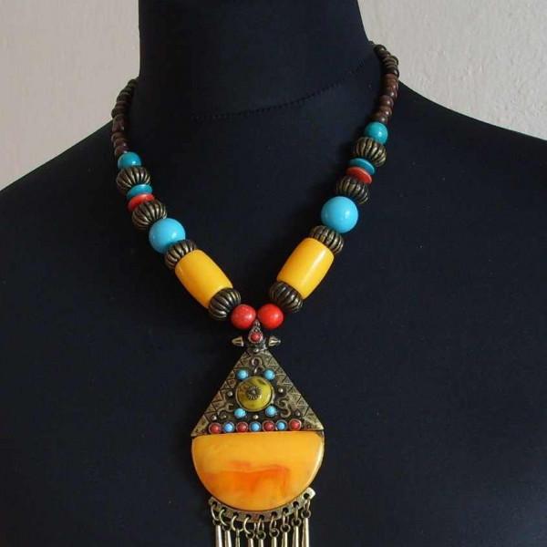 Replika faraónských šperků