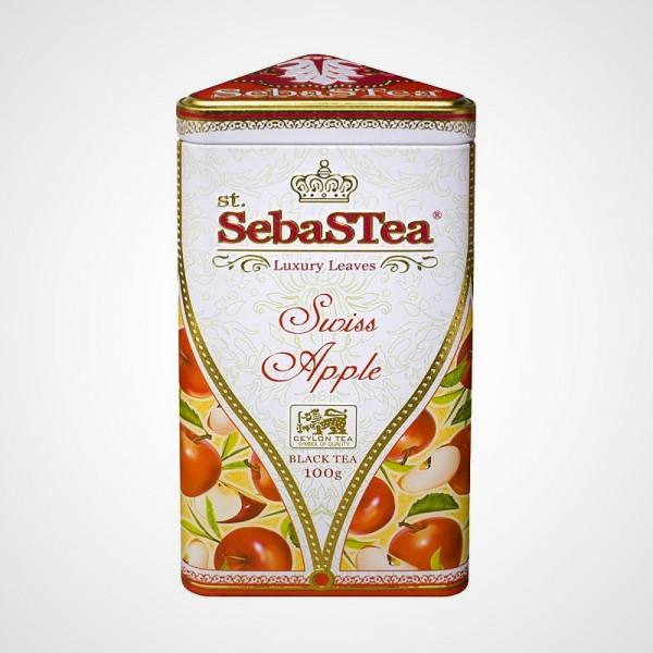 Sypaný černý čaj s příchutí Swiss Apple