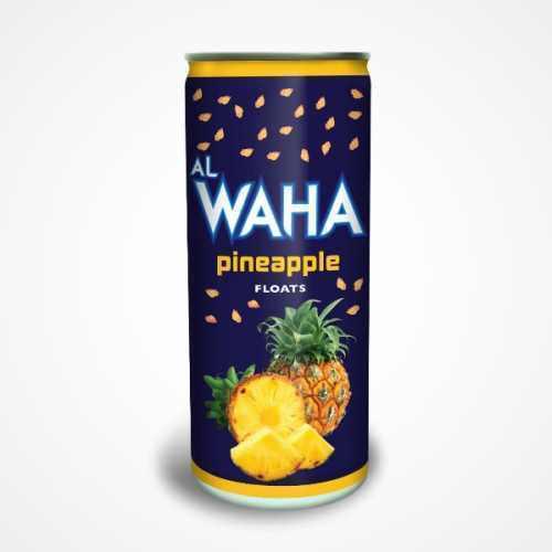 Džus Al Waha Ananas (s kousky ananasu) 240 ml