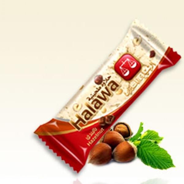 Halwa s lískovými oříšky (tyčinka) 40 g